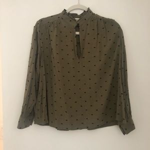 Zara Dotted Blouse